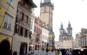 Praça em Praga