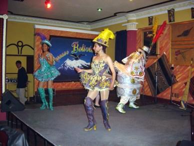 Peña Folclórica em La Paz