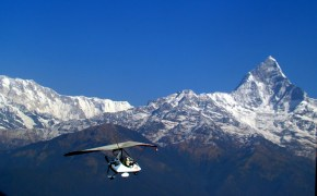 Monte Fishtail, Himalaia