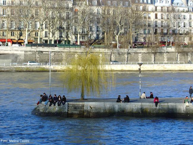île de la Cité, no rio Sena, Paris, França