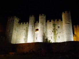 Castelo medieval de Óbidos, em Portugal