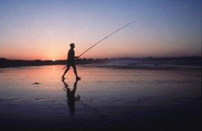 Pescador no Algarve