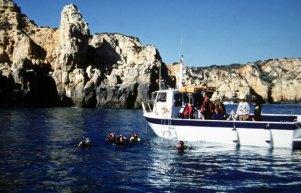 Passeio de barco, Algarve, Portugal