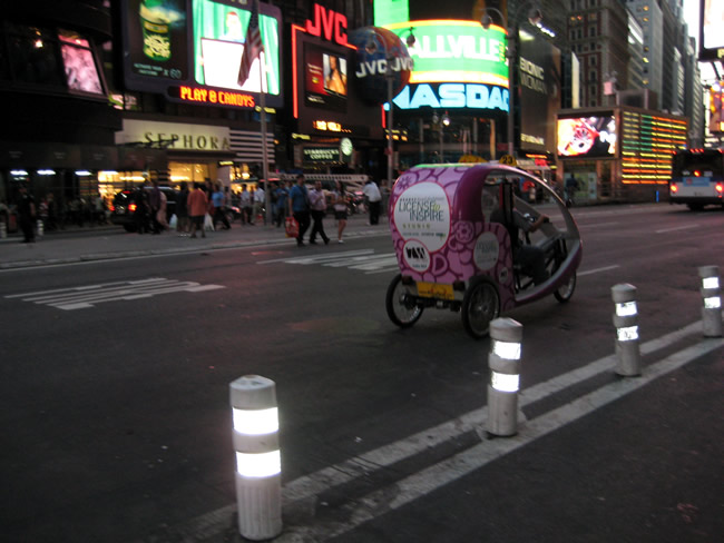 Noite em Nova York, foto Barão