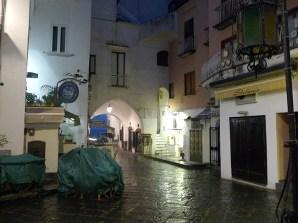Centro de Amalfi à noite