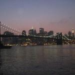 Anoitecer em New York, foto Barão