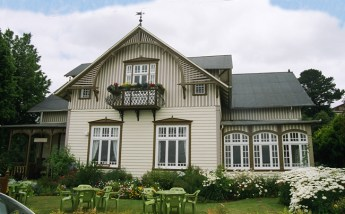 Arquitetura colonial alemã em Puerto Varas, Chile
