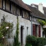 Casas medievais em Provins