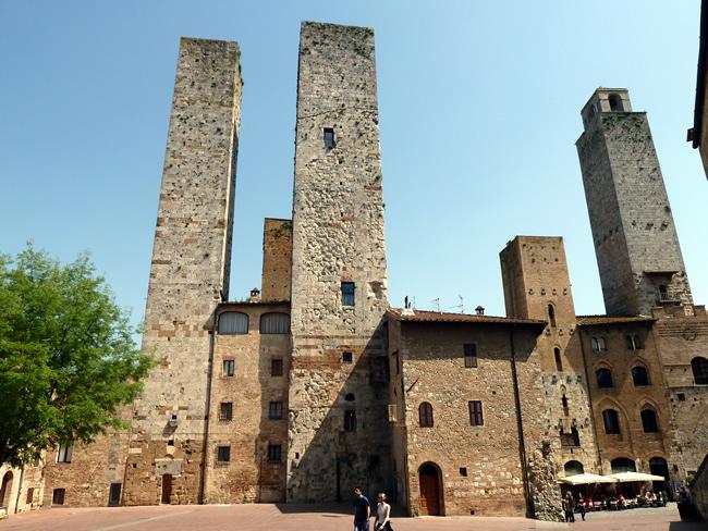 Torres em San Gimignano