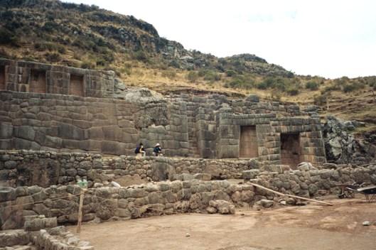 Baño del Inca, Valle Sagrado, Peru