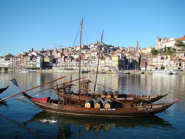 Barco rabelo, Porto, Portugal
