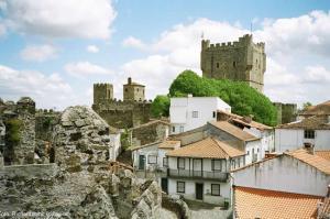 Castelo em Bragança, Portugal