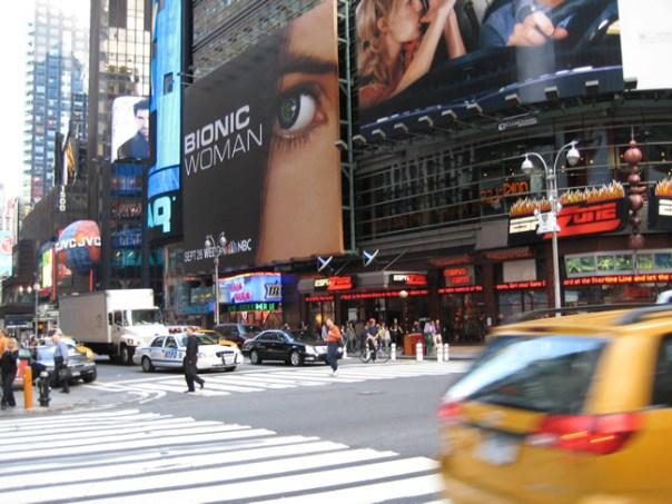 Broadway, Manhattan, NY, foto Barão