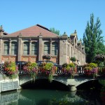 Canal em Colmar, Alsácia