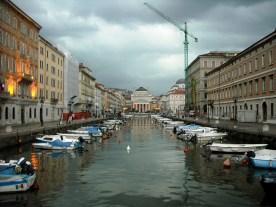 Canal em Trieste