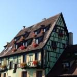 Casarão em Colmar, Alsácia, França