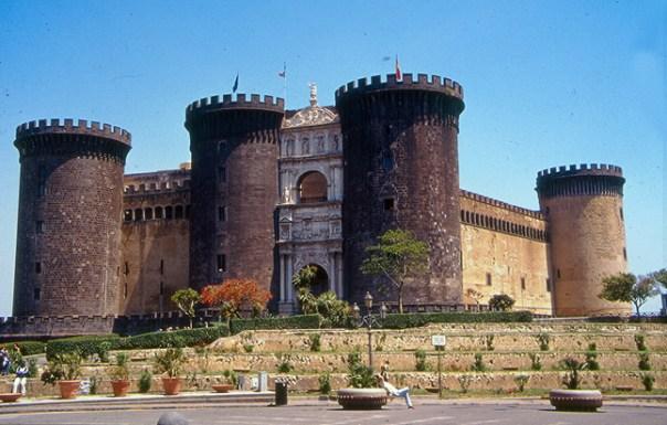 Castel Vecchio, em Nápoles, Itália