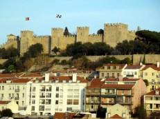 Arquitetura militar medieval, castelo São Jorge, Lisboa