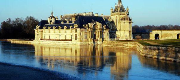 Castelo de Chantilly, na Picardia