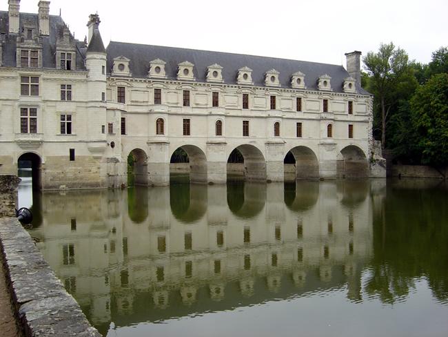 Vale do Loire, castelo de Chenonceau