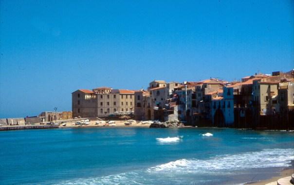 Cefalù na Sicília, Itália