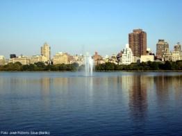 Central Park ao norte de Manhattan