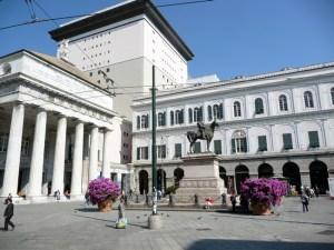 Centro de Gênova, Itália