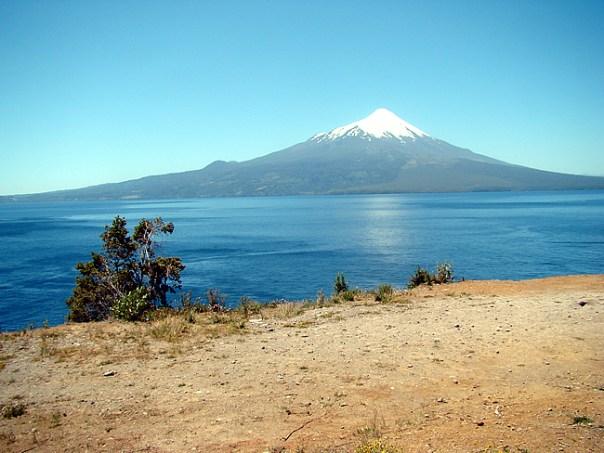 Chile, vulcão Osorno