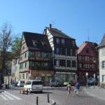 Cidade de Colmar, Alsácia, França