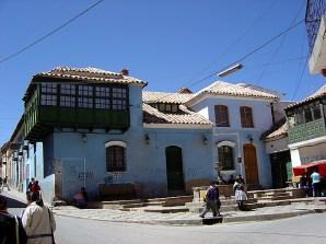Construção colonial em Potosí, Bolívia