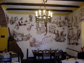 Decoração em Restaurante de Potos