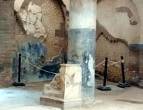 Herculano, interior de construção romana
