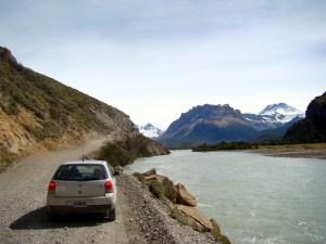 Argentina, El Chaltén, estrada