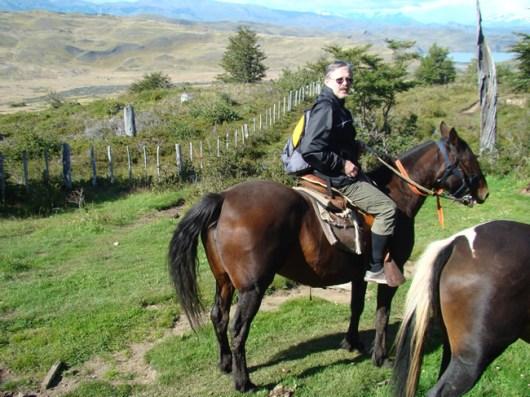 Excursão a cavalo em Torres del Paine, Chile