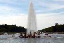 Fonte, nos jardins de Versailles, França