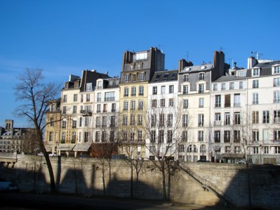 França, Paris no inverno