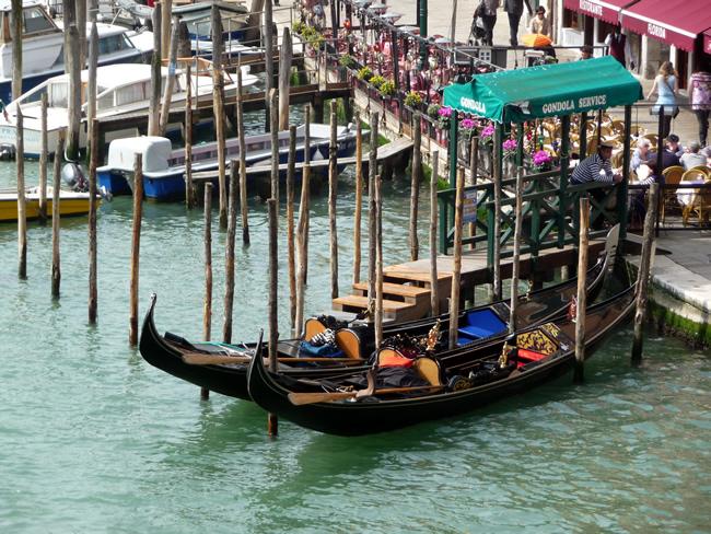 Gôngola em Veneza, Itália