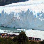 Glaciar Perito Moreno, Patagônia Andina, uma muralha de gelo