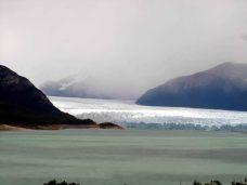 Glaciar Perito Moreno visto da estrada