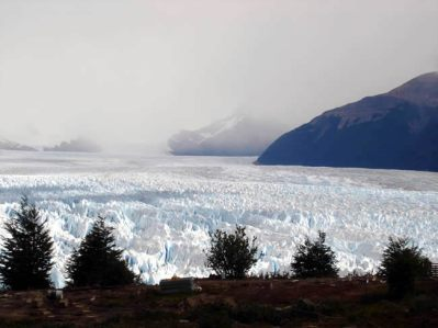 Glaciar Perito Moreno visto do mirante