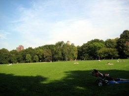 Great Lawn, Central Park, New York, foto Barão