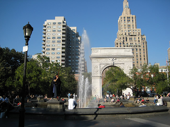 Washington Square, New York, foto Barão