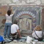 Herculano, Itália, trabalhos de restauranção