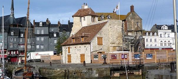 Honfleur, Normandia, porto - Foto Manual do Turista
