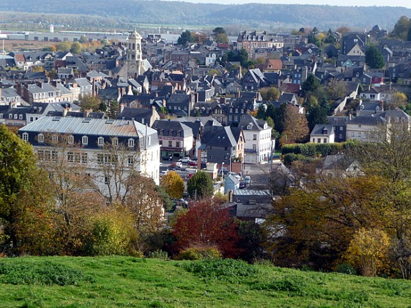 Honfleur, vista panorâmica - Foto Manual do Turista