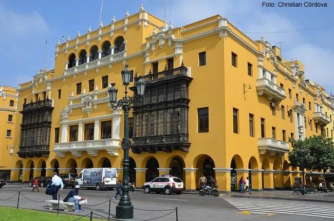 Lima, Plaza de Armas - Foto Christian Córdova CCBY