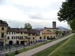 Lucca, interior das muralhas