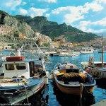 Marina em Amalfi, Itália