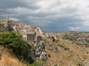 Cidade de Matera, Itália