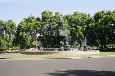 Mendoza, Argentina, cidade de parques e jardins